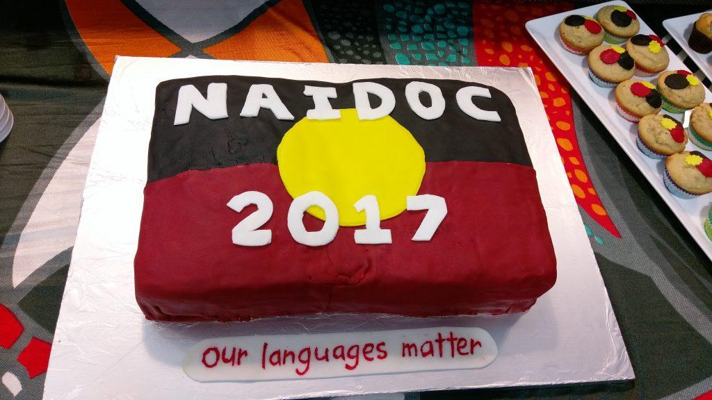NAIDOC Cake!