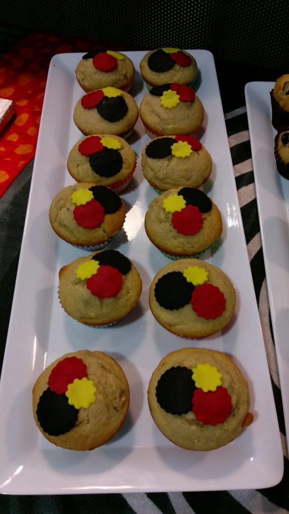 NAIDOC cupcakes