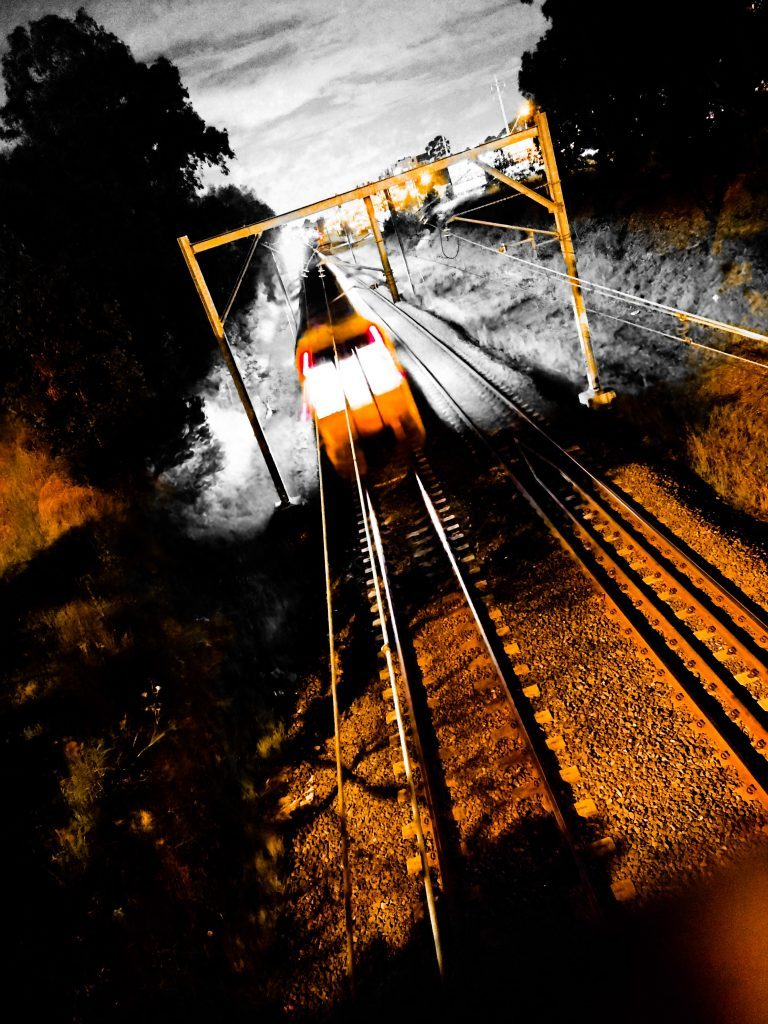 Trains #1 by Hayley