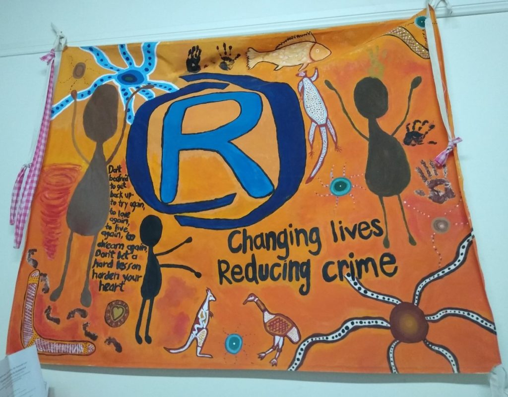 Don`t Give Up by Women of Wilcannia Arts and Crafts Group